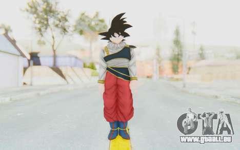 Dragon Ball Xenoverse Goku Yardrat Clothes für GTA San Andreas zweiten Screenshot