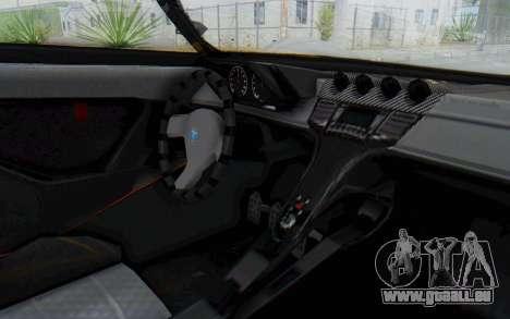 GTA 5 Grotti Prototipo v1 IVF pour GTA San Andreas vue arrière