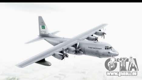 C-130 Pakistan pour GTA San Andreas sur la vue arrière gauche