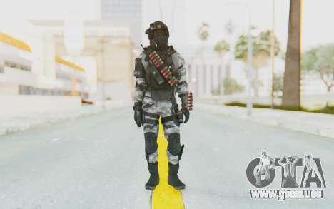 Federation Elite Shotgun Arctic für GTA San Andreas zweiten Screenshot