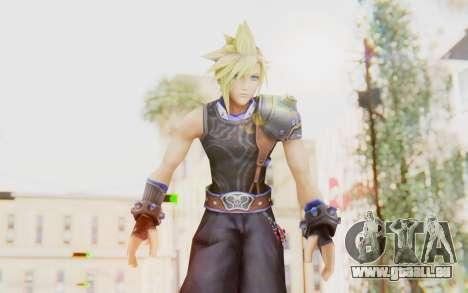 Final Fantasy - Cloud Deus pour GTA San Andreas