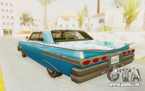 GTA 5 Declasse Voodoo PJ für GTA San Andreas linke Ansicht