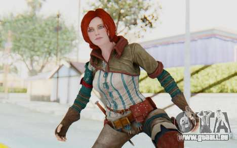 The Witcher 3 - Triss Merigold WildHunt Outfit für GTA San Andreas