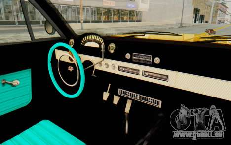 GTA 5 Declasse Voodoo PJ SA Lights pour GTA San Andreas vue intérieure
