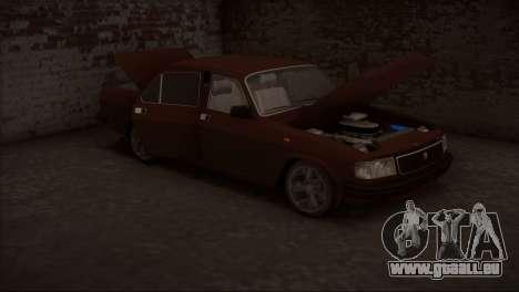 V8 de GAZ 31029 pour GTA San Andreas vue intérieure