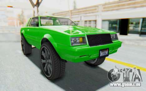 GTA 5 Willard Faction Custom Donk v3 für GTA San Andreas