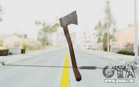 CoD Ghosts DLC Michael Myers Weapon pour GTA San Andreas deuxième écran