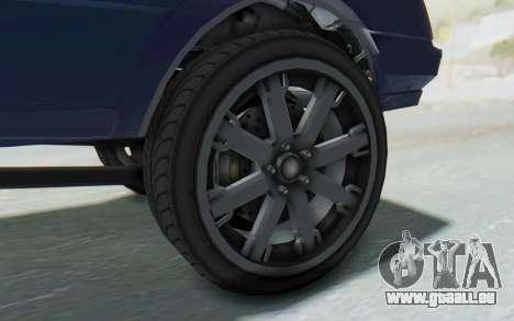 GTA 5 Willard Faction Custom Donk v3 IVF für GTA San Andreas Rückansicht