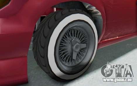 GTA 5 Vapid Minivan Custom without Hydro pour GTA San Andreas vue arrière