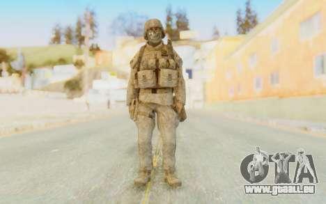 CoD MW2 Ghost Model v4 pour GTA San Andreas deuxième écran