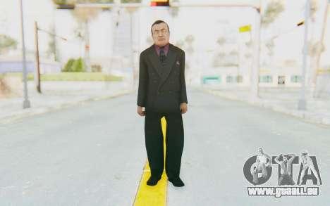 Mafia 2 - Wong pour GTA San Andreas deuxième écran