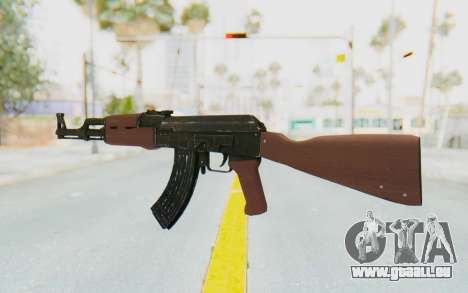 GTA 5 Shrewsbury Assault Rifle für GTA San Andreas dritten Screenshot