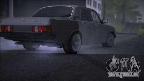 V8 de GAZ 31029 pour GTA San Andreas vue de droite