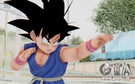 Dragon Ball Xenoverse Goku Kid GT SJ für GTA San Andreas