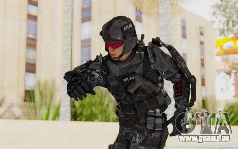 CoD Advanced Warfare ATLAS Soldier 1 pour GTA San Andreas