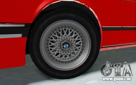 BMW M635 CSi (E24) 1984 IVF PJ2 pour GTA San Andreas vue de droite