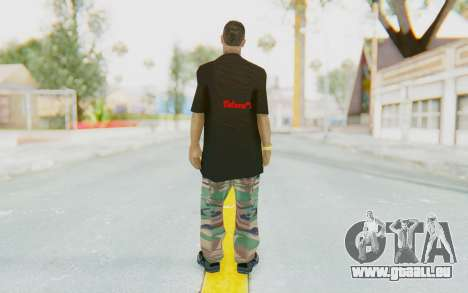 The King Skin pour GTA San Andreas troisième écran