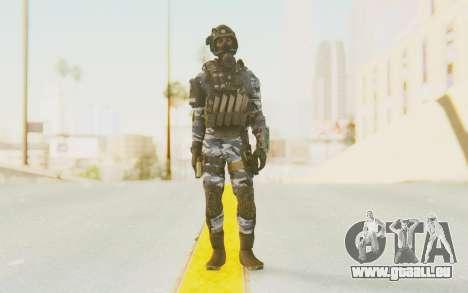 Federation Elite SMG Urban-Navy für GTA San Andreas zweiten Screenshot