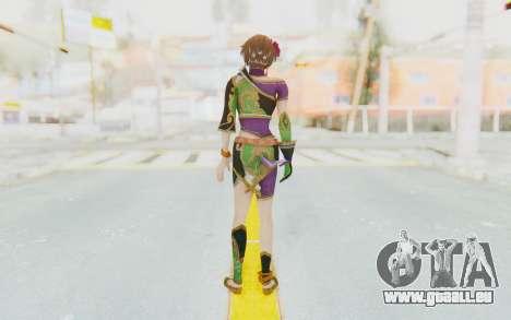 Musou Orochi 2: Ultimate - Sun Shangxiang v2 pour GTA San Andreas troisième écran