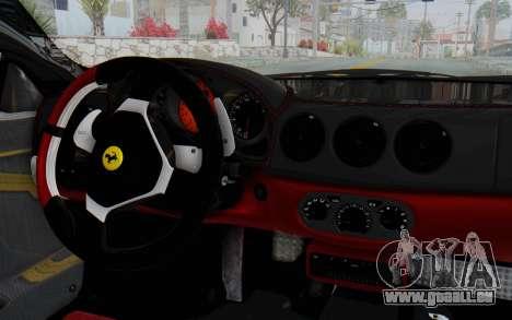 Ferrari 360 Modena Liberty Walk LB Perfomance v2 pour GTA San Andreas vue de droite