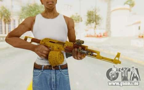 GTA 5 DLC Finance and Felony - Assault Rifle pour GTA San Andreas troisième écran