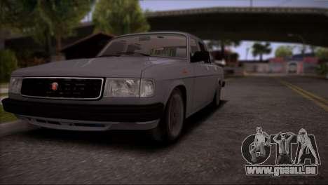 V8 de GAZ 31029 pour GTA San Andreas vue de côté