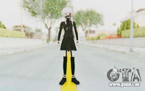Gasai Yuno Ghoul pour GTA San Andreas deuxième écran