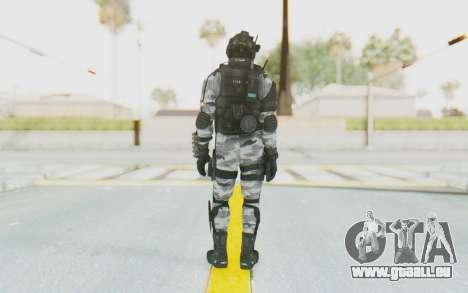 Federation Elite Shotgun Arctic für GTA San Andreas dritten Screenshot