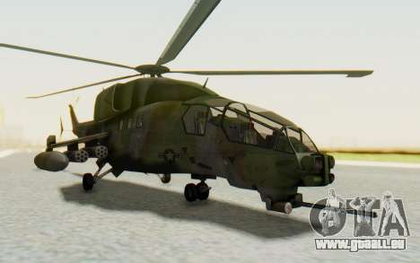 WZ-19 Attack Helicopter pour GTA San Andreas
