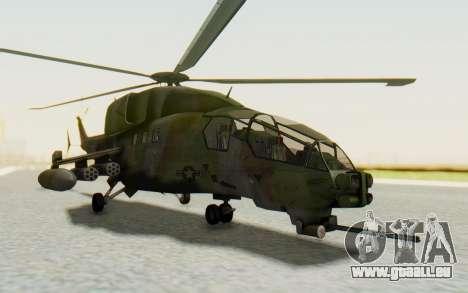 WZ-19 Attack Helicopter für GTA San Andreas