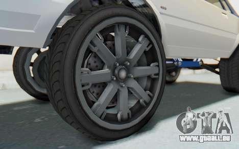 GTA 5 Willard Faction Custom Donk v2 für GTA San Andreas Rückansicht
