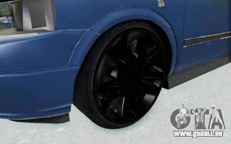 Opel Bertone pour GTA San Andreas vue arrière