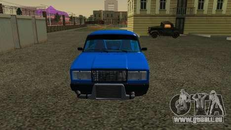 VAZ 2107 Sport pour GTA San Andreas laissé vue