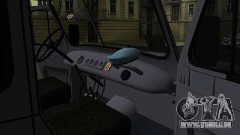 UAZ-469 für GTA San Andreas Unteransicht