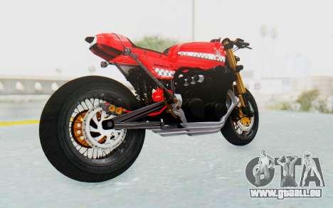 Honda CB750 Moge Cafe Racer für GTA San Andreas rechten Ansicht