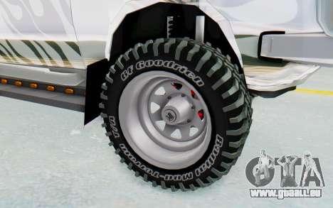 Ikco Super Peykan Pickup für GTA San Andreas Rückansicht