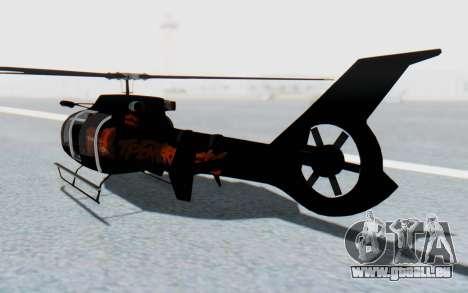 GTA 5 Maibatsu Frogger FIB IVF für GTA San Andreas linke Ansicht