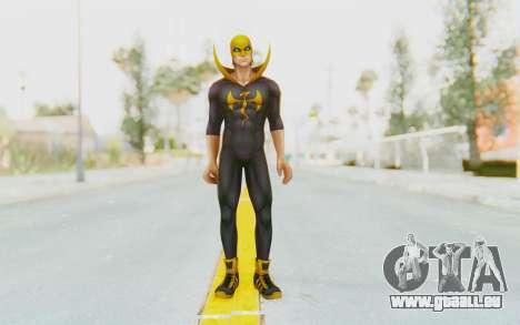 Marvel Future Fight - Iron Fist (ANAD) für GTA San Andreas zweiten Screenshot