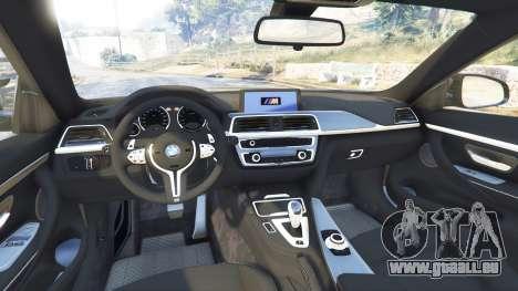 GTA 5 BMW M4 2015 v0.01 rechte Seitenansicht