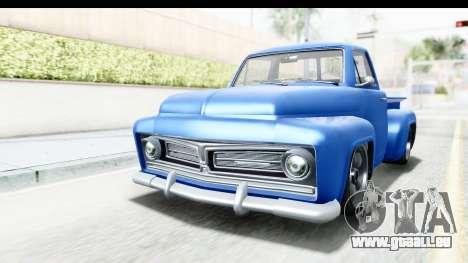 GTA 5 Vapid Slamvan without Hydro IVF pour GTA San Andreas vue de droite