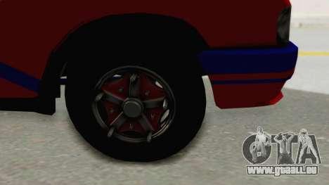 GAZelle 33021 Stylo Colombia pour GTA San Andreas vue arrière