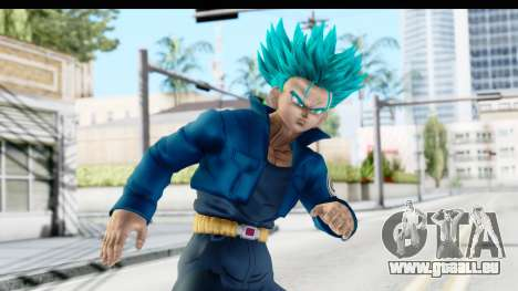 Dragon Ball Xenoverse Future Trunks SSGSS pour GTA San Andreas