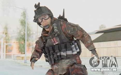 COD MW2 Russian Paratrooper v2 pour GTA San Andreas