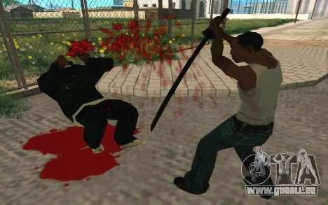 Sword of Blades pour GTA San Andreas sixième écran