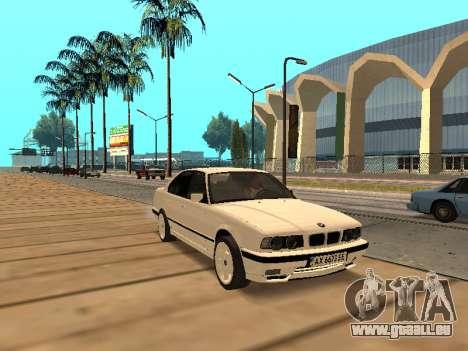 BMW E34 - EK edition pour GTA San Andreas laissé vue
