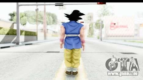Dragon Ball Xenoverse Goku GT Adult SJ für GTA San Andreas dritten Screenshot
