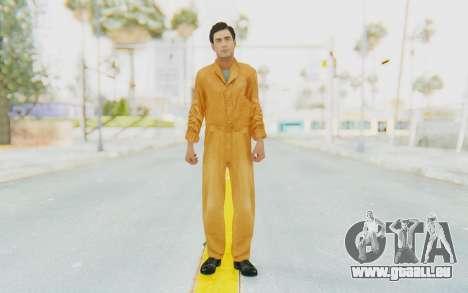 Mafia 2 - Vito Scaletta Robber für GTA San Andreas zweiten Screenshot
