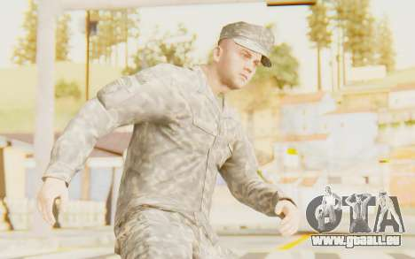 Military Casual Outfit für GTA San Andreas