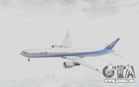 Boeing 777-300ER ANA JA735A für GTA San Andreas