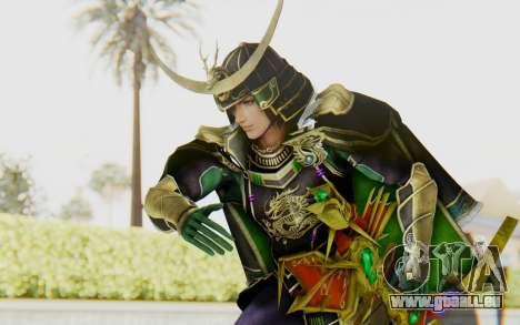 Sengoku Musou 4 - Date Masamune pour GTA San Andreas